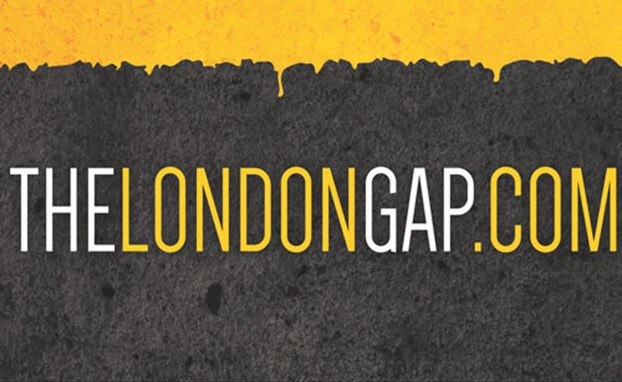 The London Gap banner
