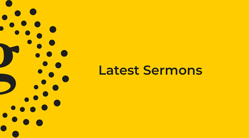 Latest sermon banner image
