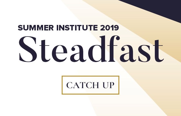 Summer Institute 2019 - Steadfast Conference Banner